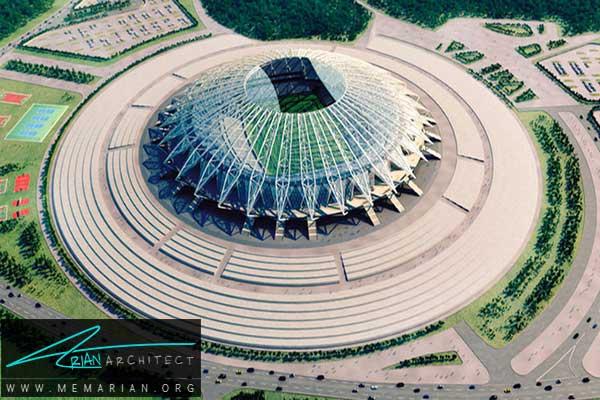 استادیوم سامارا - معماری استادیوم جام جهانی