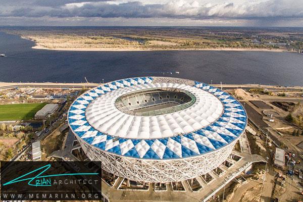 استادیوم نیژنی نگورود - معماری استادیوم جام جهانی
