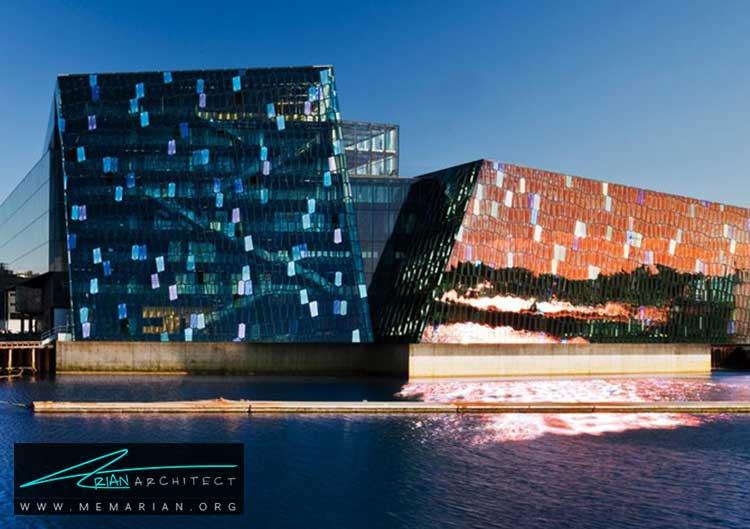 سالن کنسرت و کنفرانس هارپا در ایسلند - 10 نمونه از بهترین ساختمان های طراحی شده توسط معماران برتر