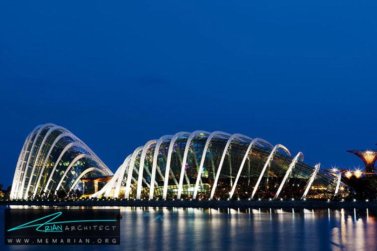 باغ های ساحلی در سنگاپور - 10 نمونه از بهترین ساختمان های طراحی شده توسط معماران برتر