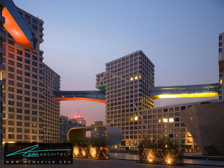 لینکد هیبرید در چین - 10 نمونه از بهترین ساختمان های طراحی شده توسط معماران برتر