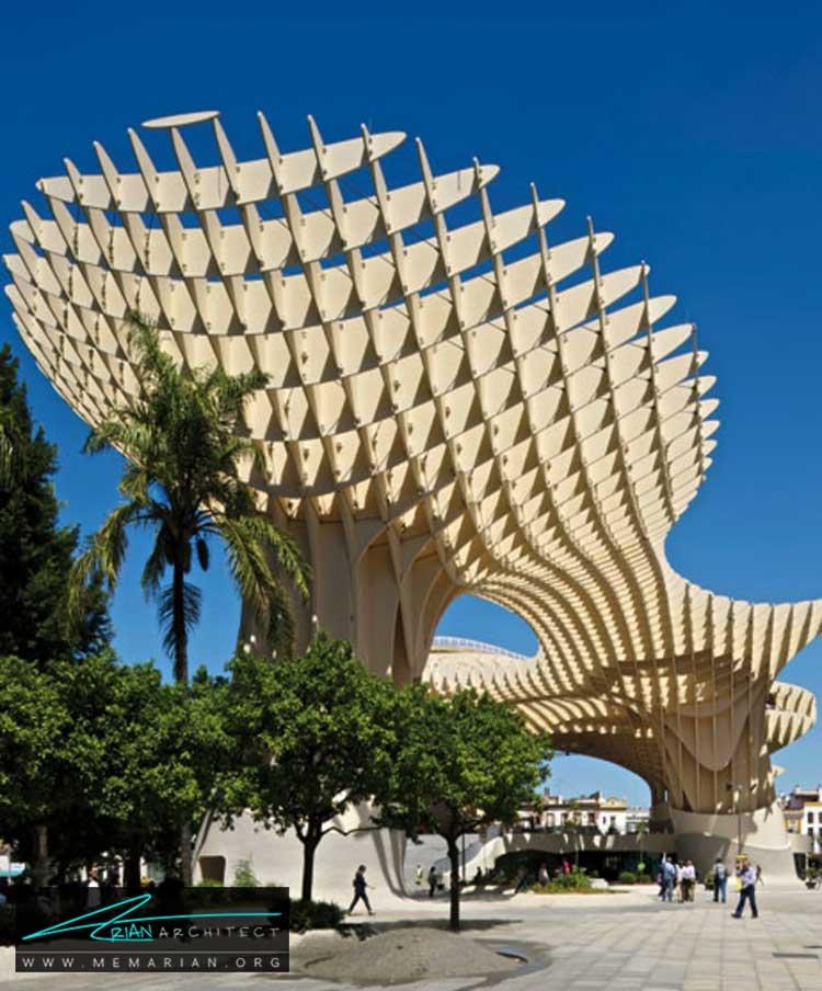 متروپل پارسول در اسپانیا - 10 نمونه از بهترین ساختمان های طراحی شده توسط معماران برتر