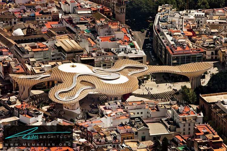 پروژه معماری متروپل پارسول در اسپانیا - 10 نمونه از بهترین ساختمان های طراحی شده توسط معماران برتر