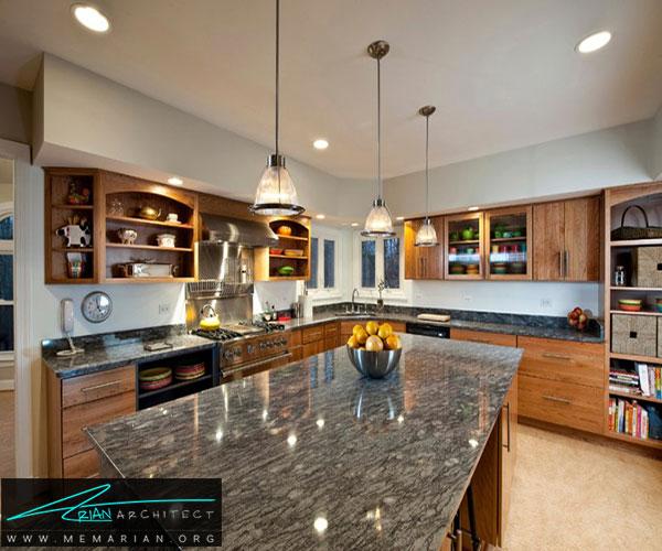استفاده از گرانیت - بهترین مواد برای آشپزخانه