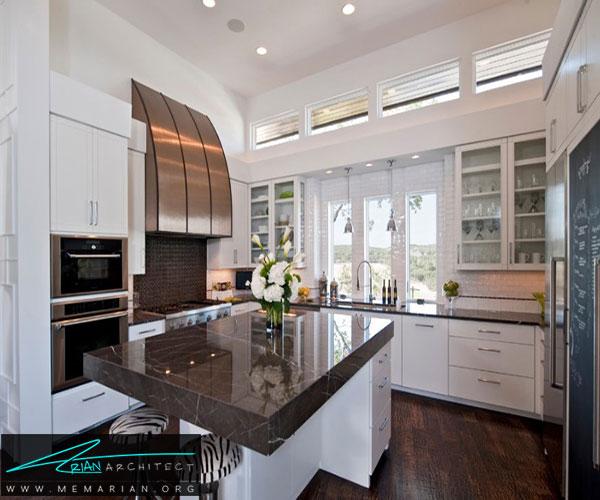استفاده از سنگ کوارتز - بهترین مواد برای آشپزخانه