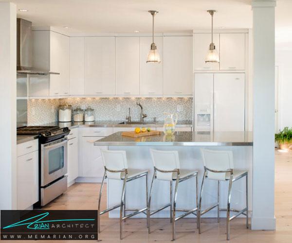 استفاده از صفحات فولادی ضدزنگ - بهترین مواد برای آشپزخانه