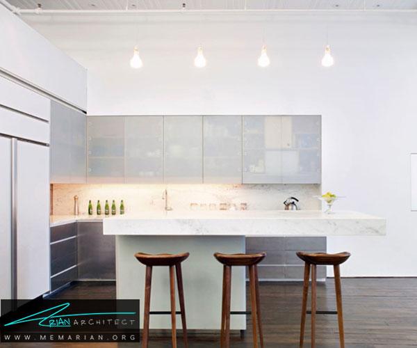 استفاده از مرمر - بهترین مواد برای آشپزخانه