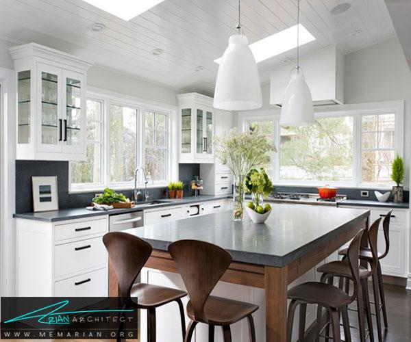 استفاده از سنگآهک - بهترین مواد برای آشپزخانه