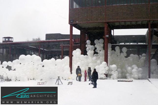 ابرهای حبابی توسط راملابر برلین - سازه حبابی