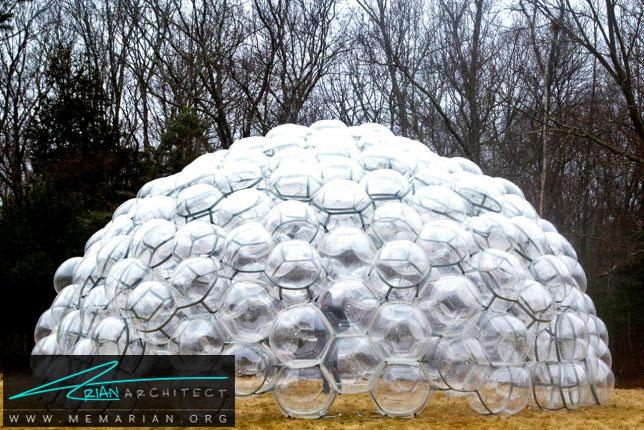 گنبد حبابی توسط پنهاوس - سازه حبابی