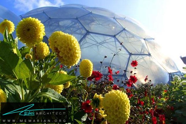 پروژه مجتمع گلخانه های حبابی - سازه حبابی