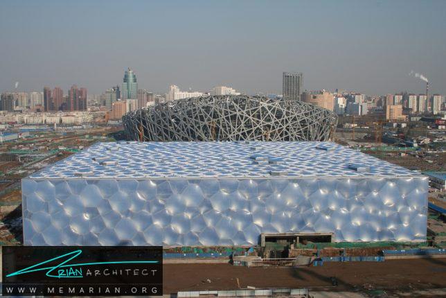 مرکز ملی پرورش آبزی در پکن - سازه حبابی