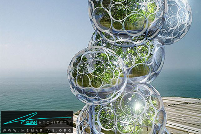 آسمانخراش کارخانه آب شیرین - سازه حبابی