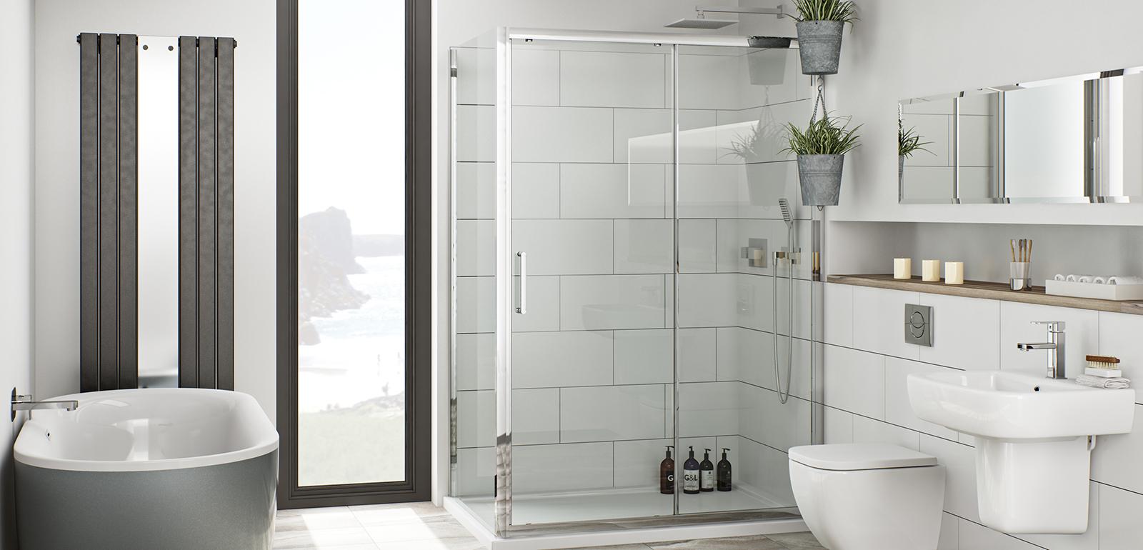 Design For Small Bathroom Pictures: معماری دستشویی و حمام رنگارنگ