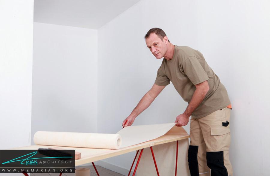 بررسی و مقایسه مزایا و معایب کاغذ دیواری نسبت به رنگ - معایب کاغذ دیواری