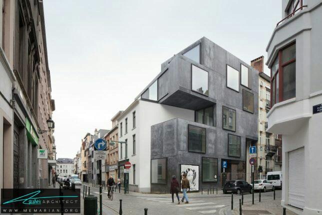 خانه کوچک ویلی توسط معماران Low - معماری سرد و راحت