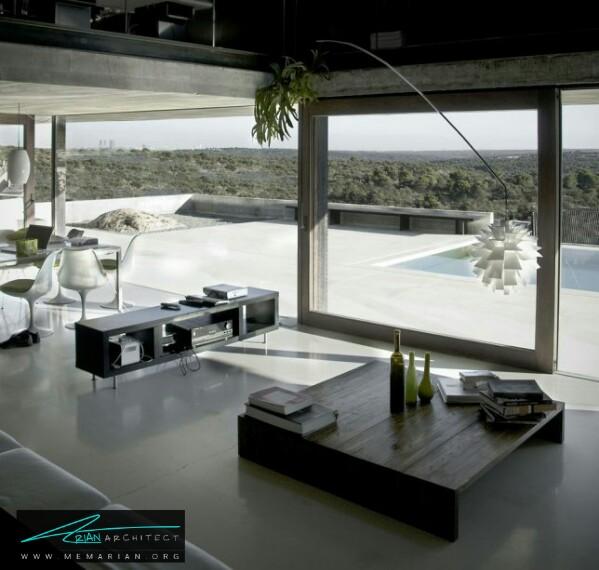 خانه پیتون توسط ایناکو کارنوسرو - معماری سرد و راحت
