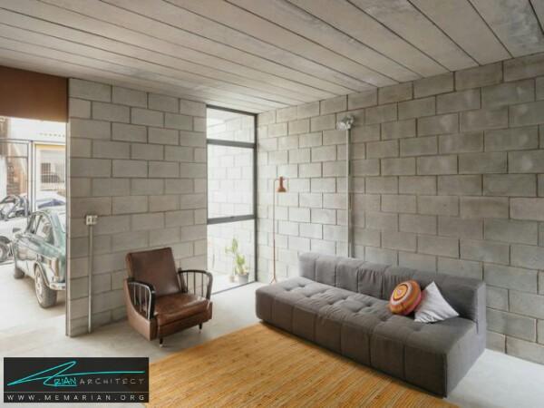 خانه مدرن و کم هزینه توسط معماران ترا توما - معماری سرد و راحت