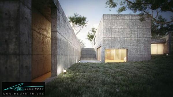 خانه کاشینو توسط تادا آندو - معماری سرد و راحت