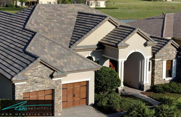 طراحی خلاقانه نمای بیرونی خانه - طراحی خلاقانه
