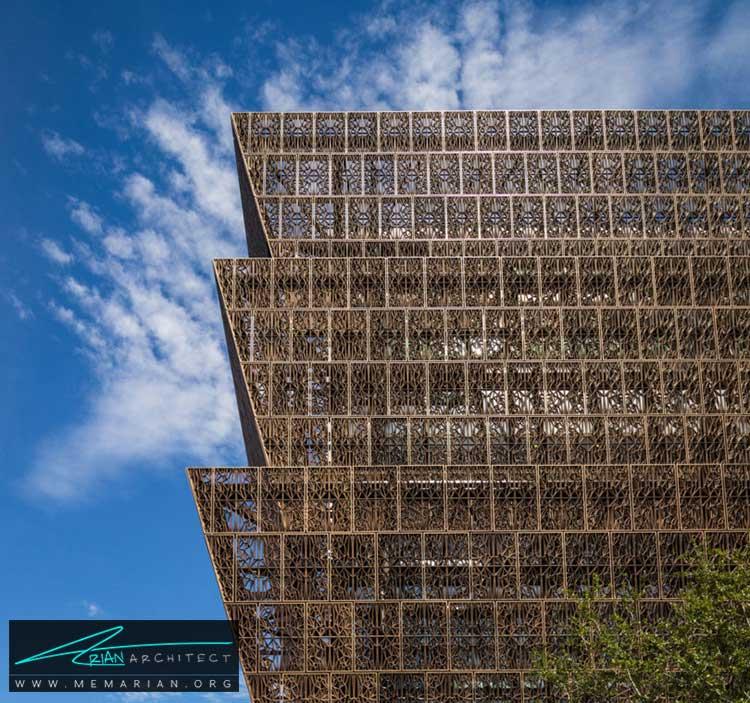 نمای ساختمان موزه ملی اسمیتسونیان - 10 ساختمان مدرن با نمای خیره کننده