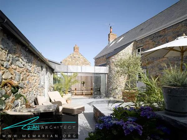 باغچه ای فقط برای افراد خانه - طراحی باغچه حیاط