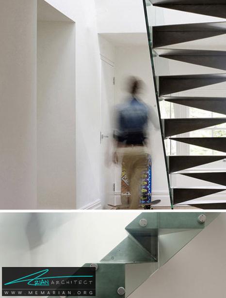 الیگامی فولاد ضد زنگ، لندن - پله های معلق