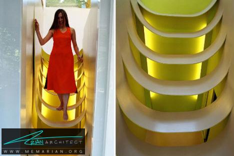 پله پلاستیکی نیم دایره ای برای کودکان- پله های معلق