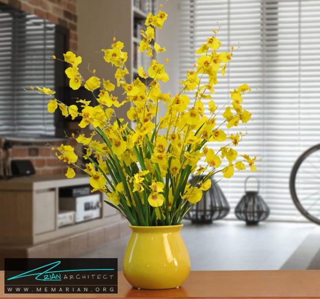 ایده هایی برای دکوراسیون با گلدان - چگونگی استفاده از گلدان برای دکوراسیون داخلی