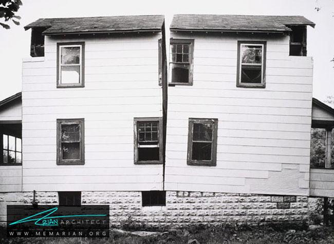 ساختمان دونیم اثر گوردون ماتا کلارک - آیا هنر چیدمان یا اینستالیشن آرت در واقع معماری است؟