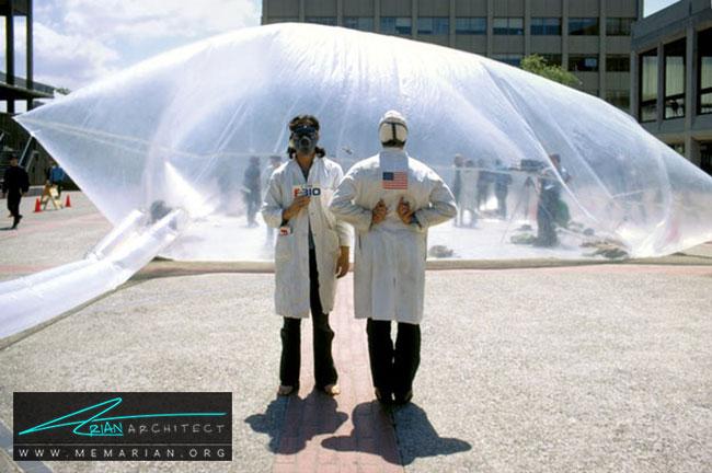 پوسته تمیز کننده هوا - آیا هنر چیدمان یا اینستالیشن آرت در واقع معماری است؟