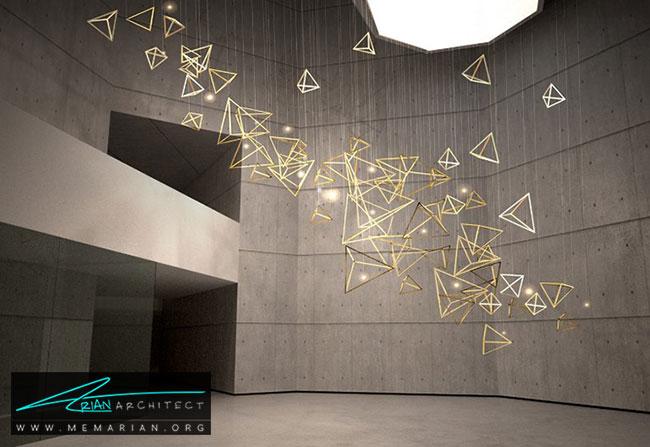 اینستالیشن آرت در نمایشگاه - آیا هنر چیدمان یا اینستالیشن آرت در واقع معماری است؟