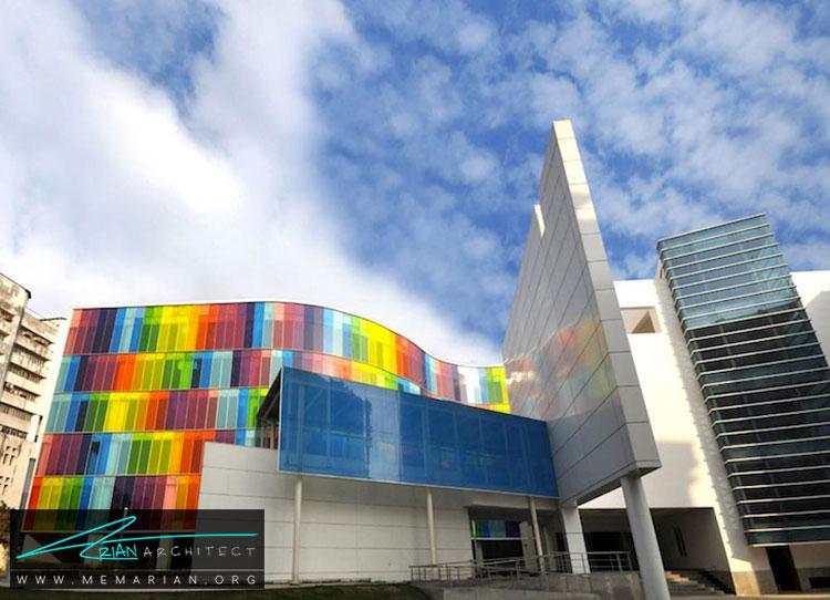 نمای ساختمان - 10 ساختمان مدرن با نمای خیره کننده