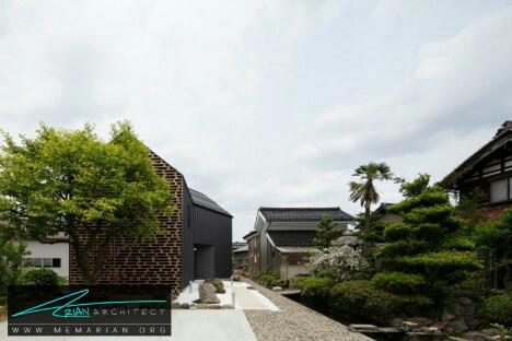 معماری چوبی مدرن خانه کاگا توسط AE -معماری چوبی مدرن
