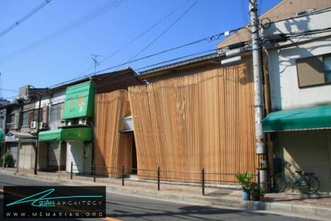 سازه غلتکی بامبو سوشی توسط کانشیرو میاموتو -معماری چوبی مدرن
