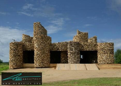 غرفه سلپو توسط نیکولای پولیسسکی -معماری چوبی مدرن