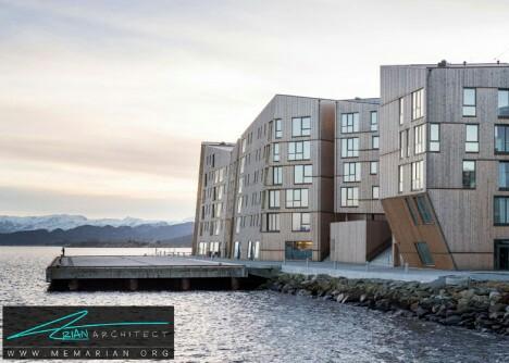 معماری مسکونی و کوهستانی شکل AAArt -معماری چوبی مدرن