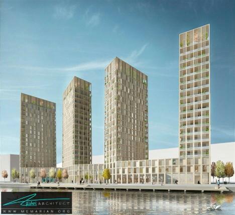 برج های مسکونی رو به رشد چوبی توسط تام و ویدگارد -معماری چوبی مدرن