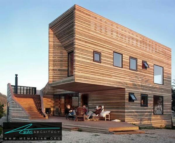 سازه اصلی معبد هیلده توسط خوزه اولاو داو + دلفین دینگ -معماری چوبی مدرن