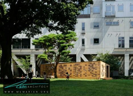آزمایشگاه فضایی توسط هیرانوما -معماری چوبی مدرن