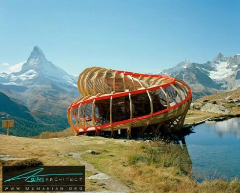 ساختار چوبی مدرن اسپیرالتوسط استودیو آلیس -معماری چوبی مدرن