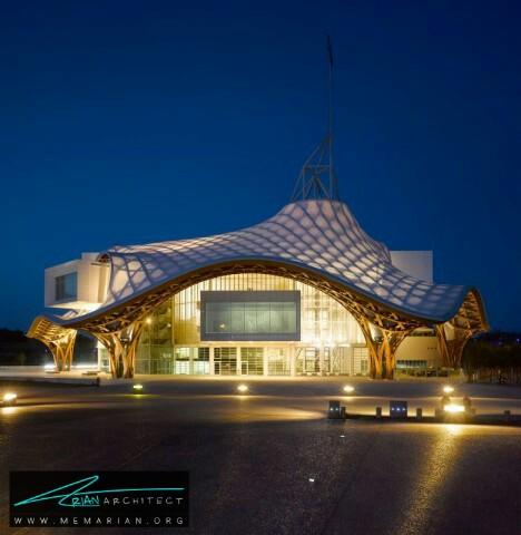 موزه هنر پومپیدو-متز توسط شیمرو بان-معماری چوبی مدرن