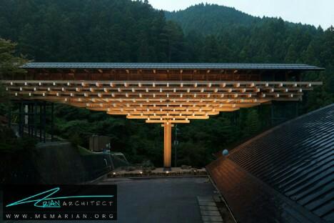 موزه پل چوبی یوسوهارا توسط کنگو کوما + همکاران-معماری چوبی مدرن