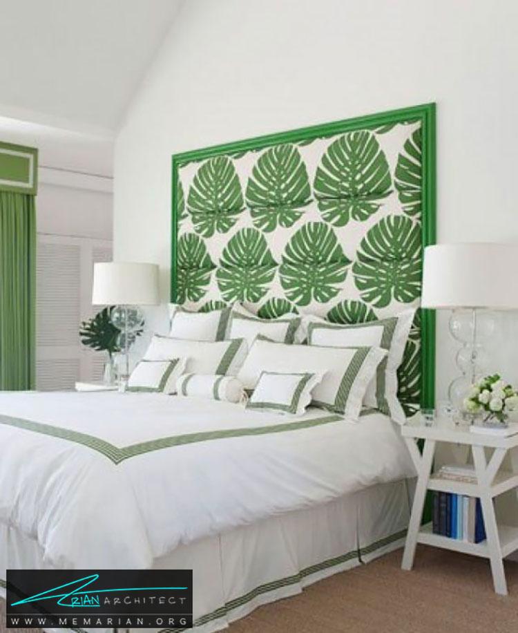 تاج تخت مناسب تابستان - 25 ایده ساده برای دستیابی به دکوراسیون تابستانی در خانه