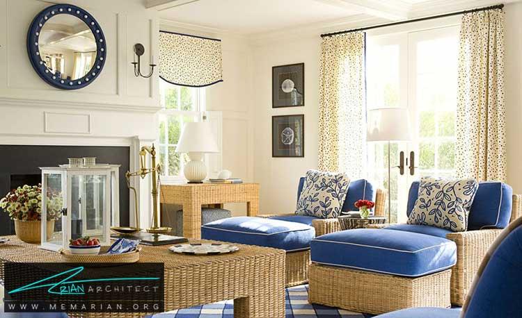 لوازم و اشیای مرتب - 25 ایده ساده برای دستیابی به دکوراسیون تابستانی در خانه