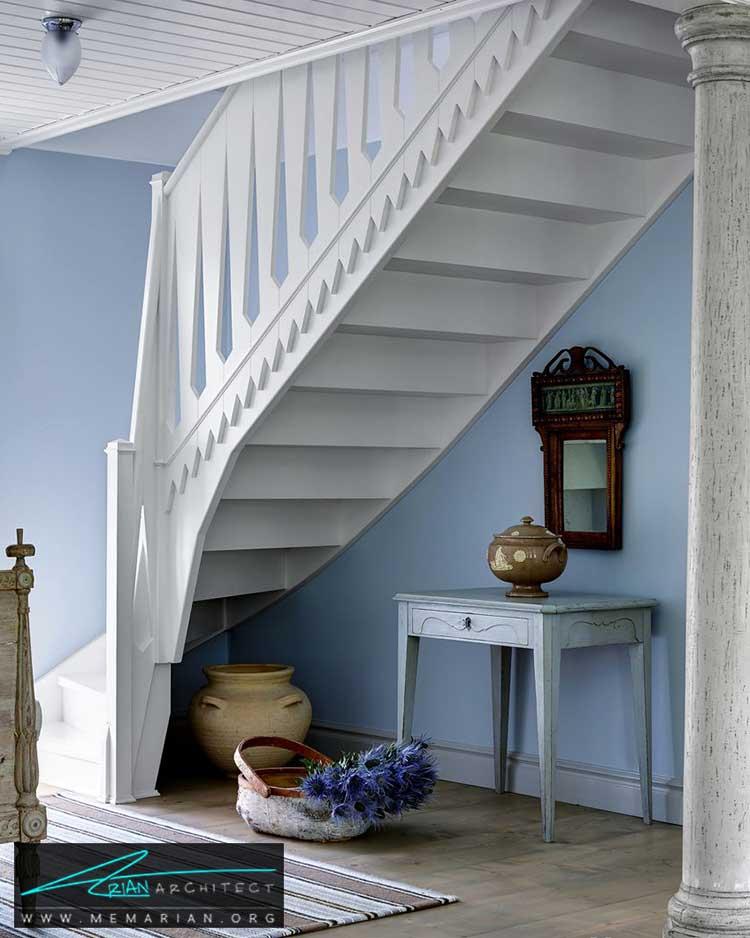 رنگ آمیزی اشیای چوبی - 25 ایده ساده برای دستیابی به دکوراسیون تابستانی در خانه