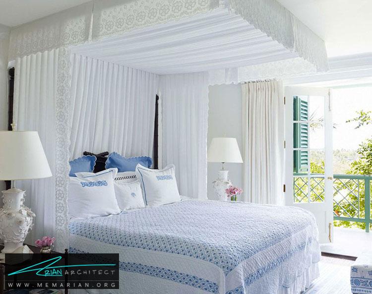 تخت سایبان دار - 25 ایده ساده برای دستیابی به دکوراسیون تابستانی در خانه