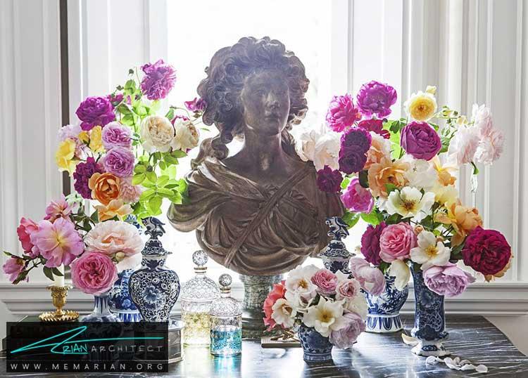 گل های طبیعی در دکوراسیون تابستانی - 25 ایده ساده برای دستیابی به دکوراسیون تابستانی در خانه