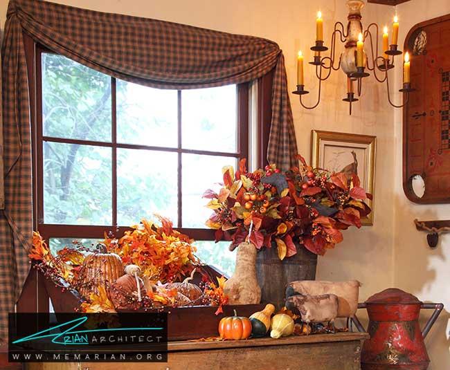 دکوراسیون پاییزی - با 7 قدم خانه خود را برای پاییز آماده کنید.