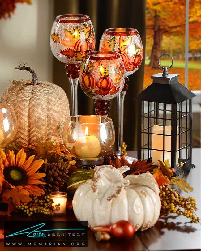 لوازم دکوری پاییز - با 7 قدم خانه خود را برای پاییز آماده کنید.